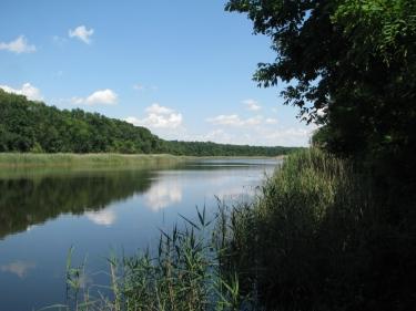 Река Челбас. Фото В.Чекмарева